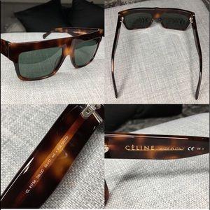 Celine Italy ZZ Top Celine sunglasses